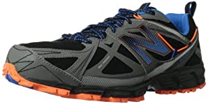 New Balance Mt610 D V3, Chaussures de running homme - Noir (Black/Orange (952)), 45 EU (11 US)