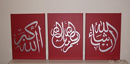 peinte-a-la-main-de-calligraphie-islamique-arabe-mur-art-lot-de-3-peintures-huile-sur-toile-tendue-e