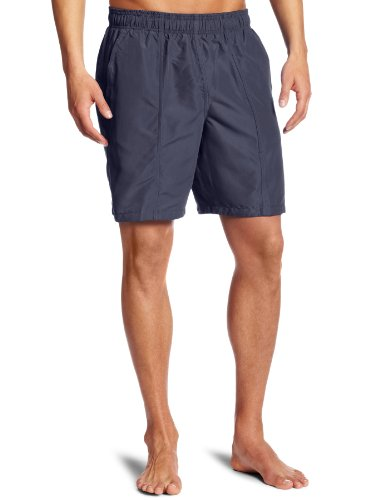 speedo-mens-core-basic-rally-solid-volley-swim-trunks-granite-x-large