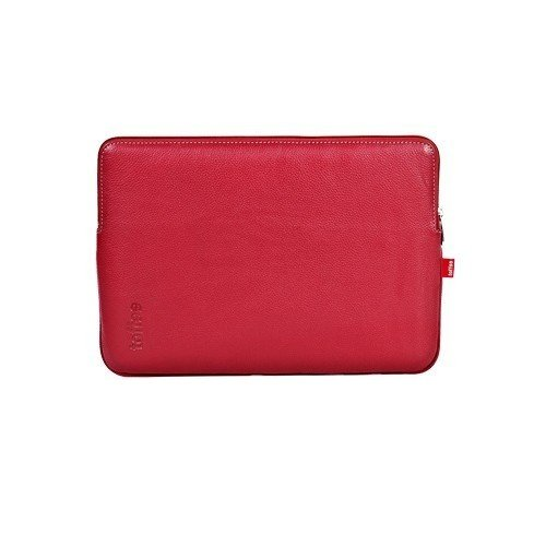 Toffee MacBook / Pro 13.3 inch Leather Sleeve - Red