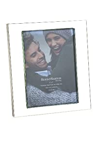 Reed & Barton Addison Silver Plated 5 by 7 Picture Frame