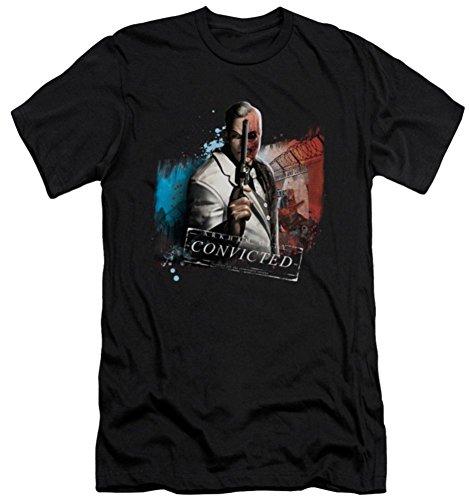 Batman Arkham City Two Face Slim Fit T-Shirt