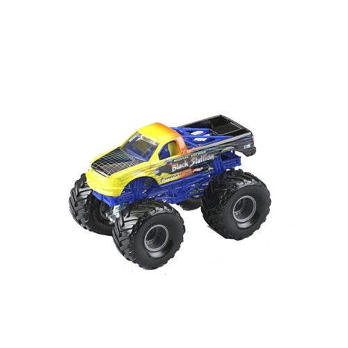 Monster Jam Hot Wheels Escala 1:24 Die Cast Truck Monster Oficial 2011 de la Serie BACKDRAFT