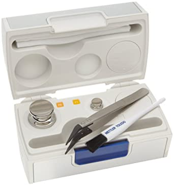Mettler Toledo 11123000 CarePac OIML with Carrying Case, Class F2 200 g and  F1 20 g Test Weight