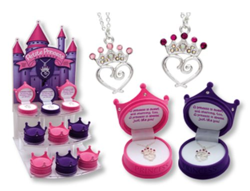 Petite Princess Crown Necklace in Figural Gift Box: Everything Else