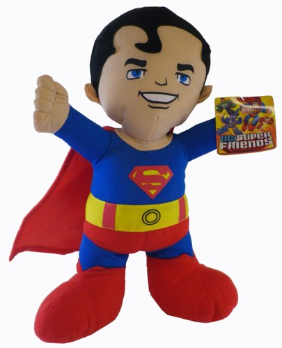 Superman Plush Toy - DC Super Friends Doll (9 Inch)