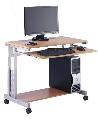 HOPCO HEIGHT ADJUSTABLE Computer Workstation 750mm wide