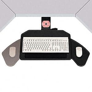 Boomerang Board Corner Workstation Platform, 22-1/2w x 13-1/2d, Black