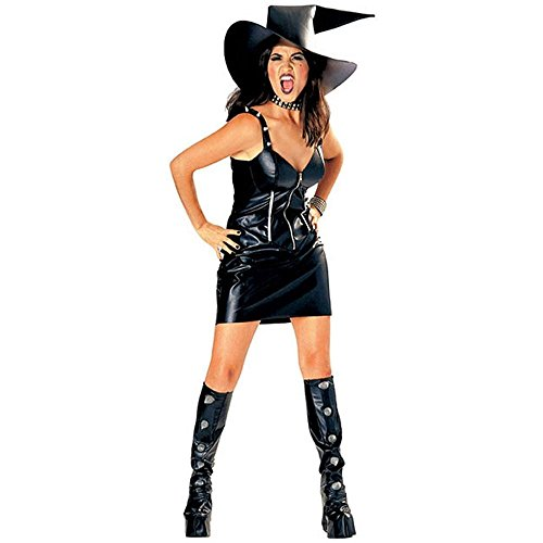 Black Magic Witch Outcast Adult Costume