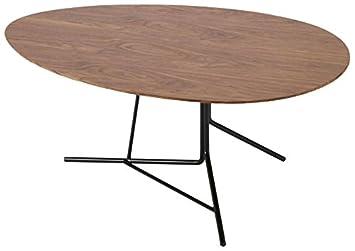 Moe's Home Collection Savanna Coffee Table, Medium, Walnut