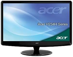 Acer H234hbmid 58,4 cm (23 Zoll) TFT-Monitor DVI, VGA, HDMI (Kontrast 80000:1, 2ms Reaktionszeit) schwarz