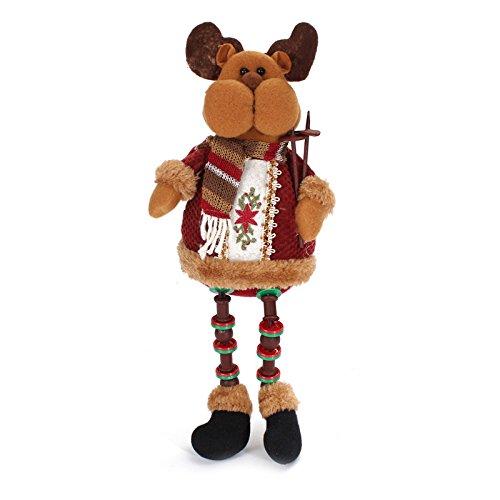 Santa Claus Snow Man Reindeer Doll Christmas