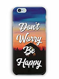 YuBingo Don't Worry. Be Happy Designer Mobile Case Back Cover for Apple iPhone 6 Plus