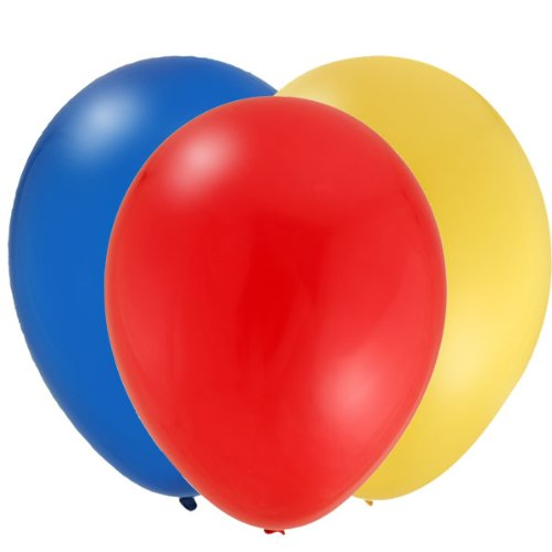 Lego City Coordinating Latex Balloon Set (24) - 1