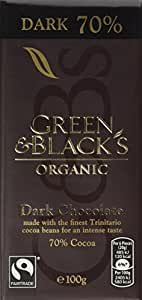 Green and Black's Organic Dark Chocolate 100 g (Pack of 5)
