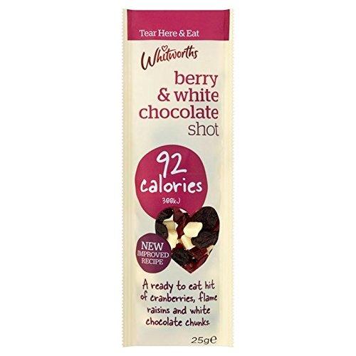 Berry Whitworths Et Blanc Coup De Chocolat 25G - Paquet de 6