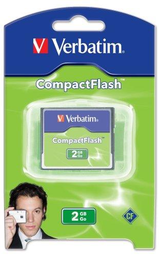 Verbatim CompactFlash 2GB Memory Card 47012B00009968G : image