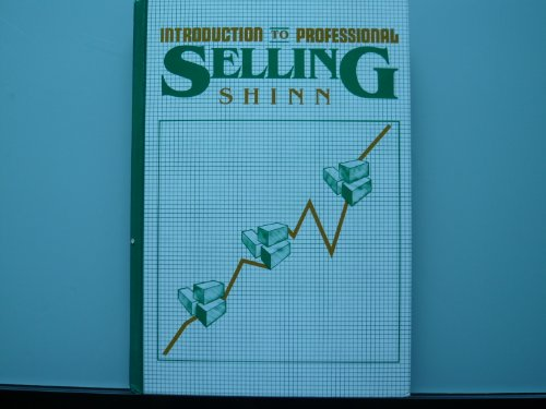 An Introduction to Professional Selling (The Gregg/McGraw-Hill marketing series) PDF