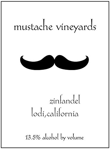 Mustache Vineyards Zinfandel 750 Ml