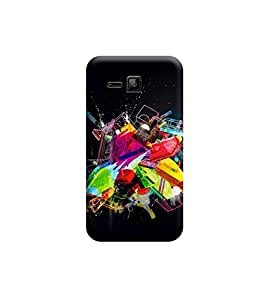 Ebby Premium Printed Back Case Cover With Full protection For Micromax Bolt S301 (Designer Case)