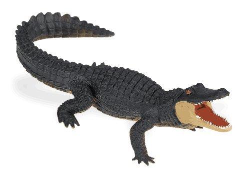 Buy Low Price Safari Wild Safari Wildlife: Alligator Figure (B0009JK9AI)