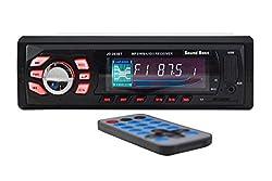SoundBoss SB-52 Bluetooth Wireless With Phone Caller Id Receiver Car Media Player(Single Din)
