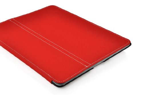 JAMMYLIZARD|Custodia HORIZON Back Cover Ultraslim per iPad 4, iPad 2 e iPad 3, ROSA