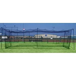 Batting Cage Netting 35x12x11 NET Only 3mm Braided Poly by Cimarron