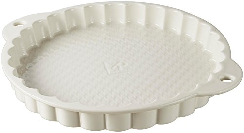 Revol LES NATURELS GIFTBOX TART DISH - Creamy - Rustic eLegant french style: inspired from all the traditional French pastry molds, they will adapt to any recipe!