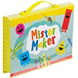Mister Maker 68 piece Art Set - Felts, coloured pencils, crayons, paints etc
