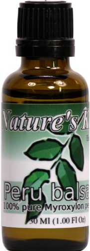 Nature's Kiss 100% Pure Essential Oil, Peru Balsam, 1 Fluid Ounce