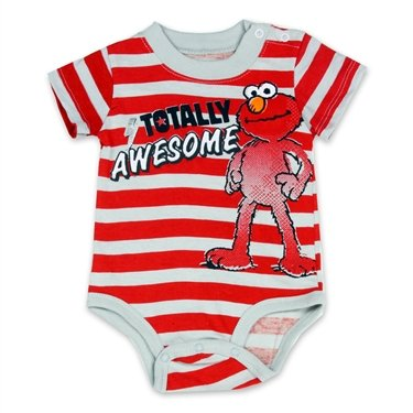 Elmo Totally Awesome Sesame Street Newborn Baby Creeper