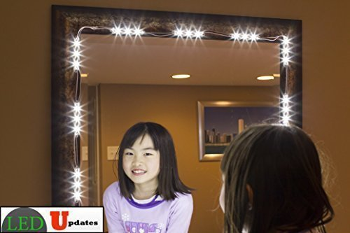MAKE UP MIRROR LED LIGHT FOR VANITY MIRROR with dimmer and UL power supply eco series (Make Up Lighting compare prices)