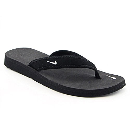 womens nike celso girl thong sandals black white size 6 apparel accessories shoes thongs flip flops. Black Bedroom Furniture Sets. Home Design Ideas