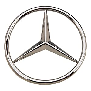 Oes genuine mercedes benz trunk star emblem for Mercedes benz trunk emblem