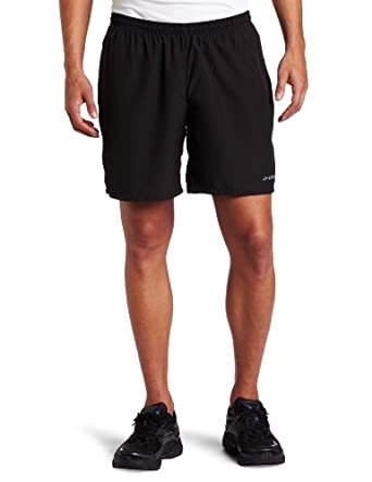 Brooks Men's Essential 2-in-1 7-Inch Short, Black, Small