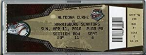 Stephen Strasburg Rc 1st PRO Game Full Ticket+coa Mint by National Ticket Company
