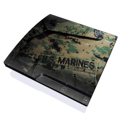 Courage Design Skin Decal Sticker for the Playstation 3 PS3 SLIM Console