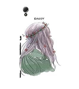 EPICCASE Daisy Mobile Back Case Cover For Sony Xperia Z4 Mini / Z4 Compact (Designer Case)