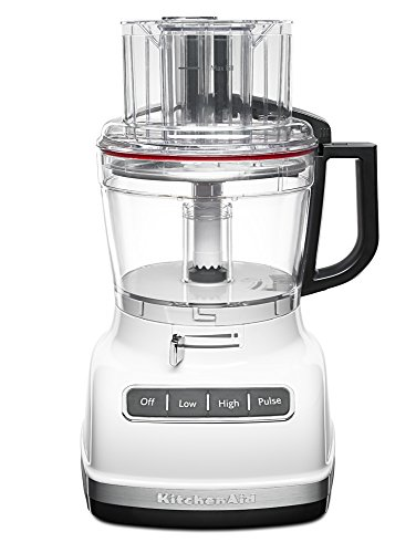 KitchenAid KFP1133WH 11-Cup Food Processor with Exact Slice System - White (Kitchen Aid 11 Cup Food Processor compare prices)
