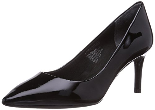 Rockport TOTAL MOTION  75MMPTH, Decolleté chiuse donna, Nero (Schwarz (BLACK PATENT)), 39