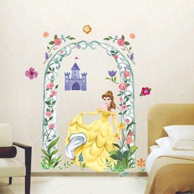 Imagen 1 de Grandes Belle Princess - Muro de los niños pegatina Inicio Art Deco Pegatinas de pared