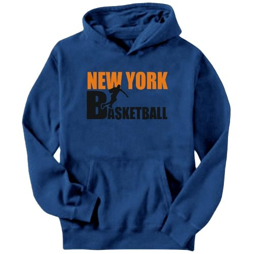 New York All B-Asketball Mens Hoodie