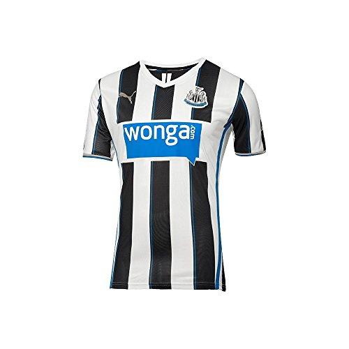 Puma Newcastle HOME Replica Jersey [BLACK/WHITE/PUMA ROYAL] (L) (Newcastle United Jersey compare prices)