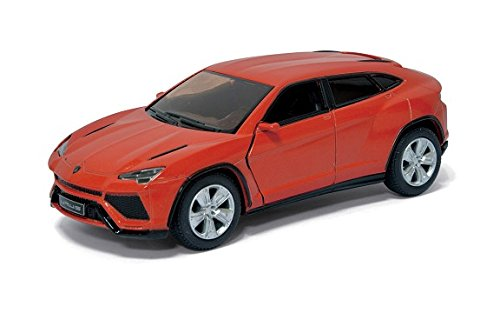 Scale 1/38 Lamborghini Urus pull back action diecast car Orange