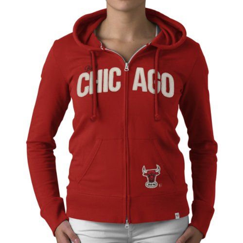 NBA Chicago Bulls Pep Rally Full Zip Fleece Jacket, Small, Rebound Red at Amazon.com