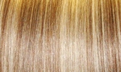 Human Hair Extensions Full Head Clip In - 6/16/613 Medium Golden Brown Blonde Highlights (14 inch)