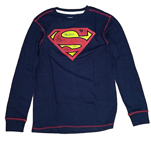 DC Comics Superman Man of Steel Thermal Graphic T-Shirt
