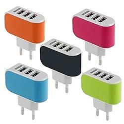 Dhhan 3 USB port Wall Charger/Adapter