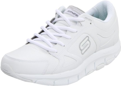 Skechers Lucent Running Nuovo Scarpe Donna, Bianco (Blanc (Wht)), 39